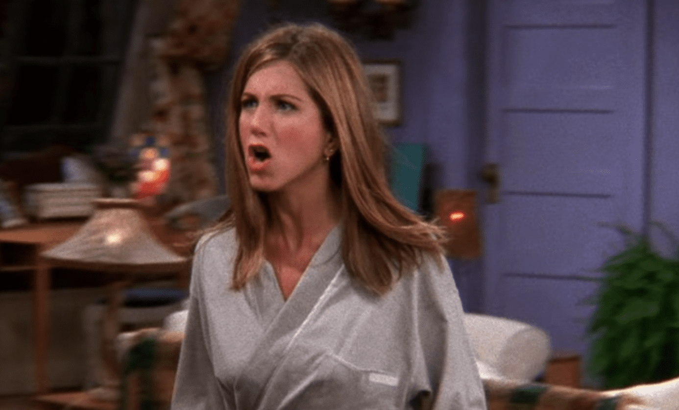 Jennifer Aniston tic video: Friends fans furious with Rachel backlash    Metro News