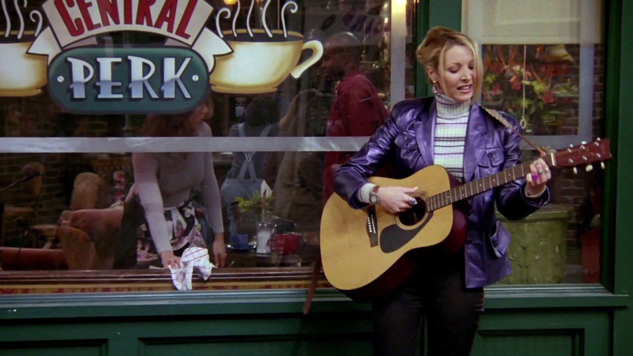 Phoebe Buffay - I Play For Me - YouTube
