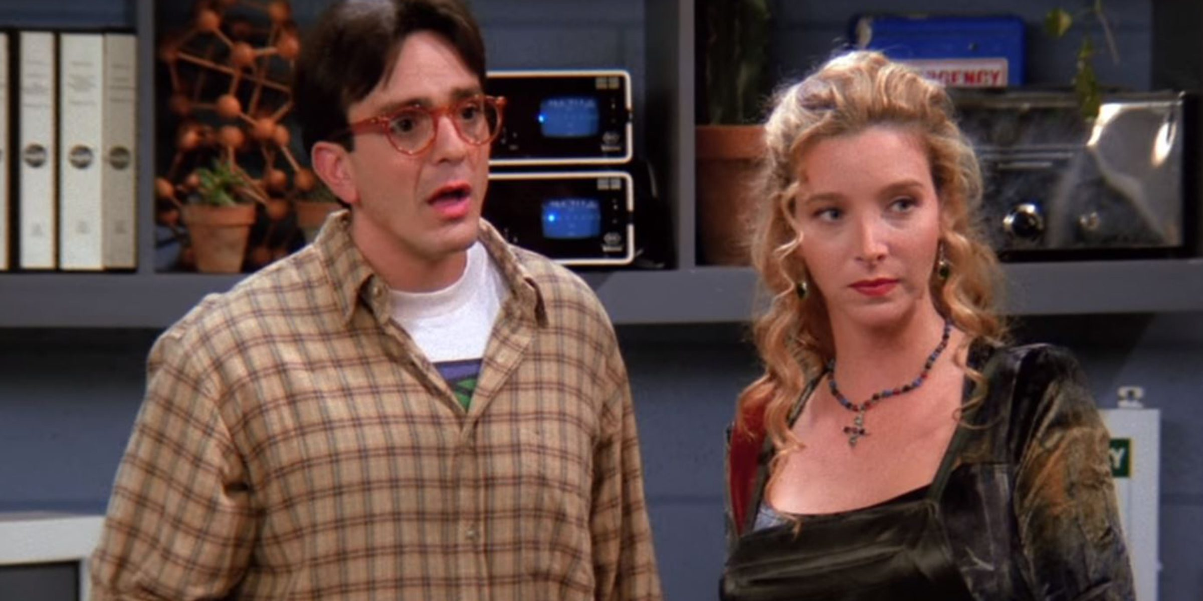 Friends' co-creator reveals Phoebe could have ended up with David